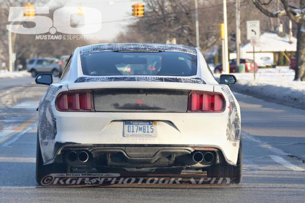 ford mustang gt 2015 roush exhaust