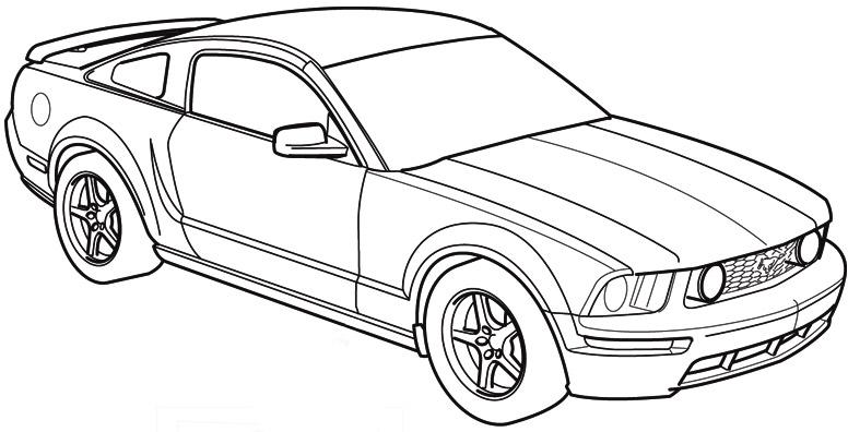ford mustang race car nascar