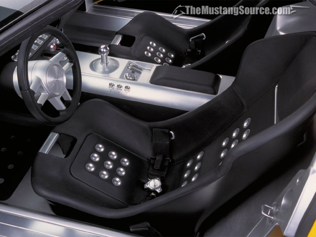Desktop Wallpaper 2005 Ford GT Interior Photos  The