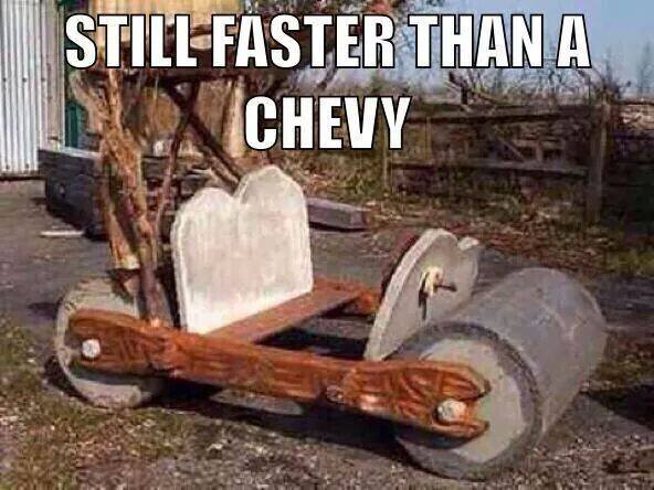 Still Faster than a Chevy Meme - The Mustang Source