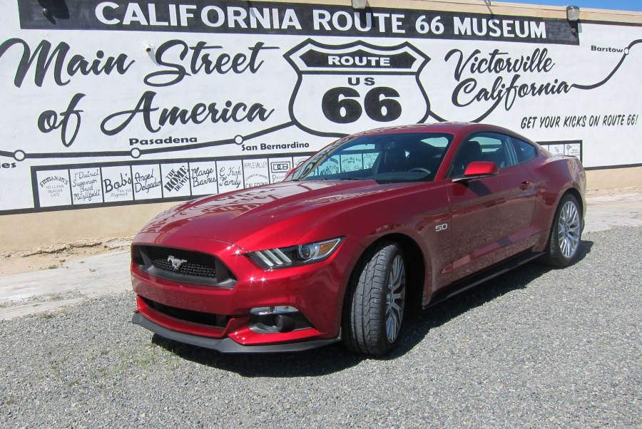 2016 Mustang at route 66 Museum Victorville, CA II