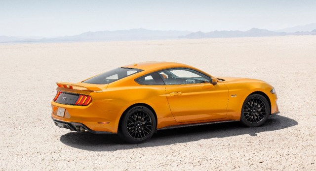 2018 Ford Mustang GT and EcoBoost pricing