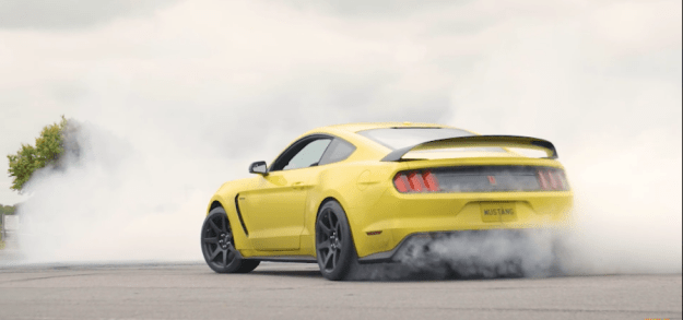 The British press got to sample the GT350, forbidden fruit in the U.K.