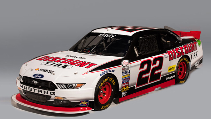 Nascar Mustang Pictures