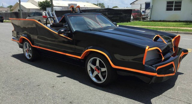 This Ford Mustang-based Batmobile isn't fooling anybody.