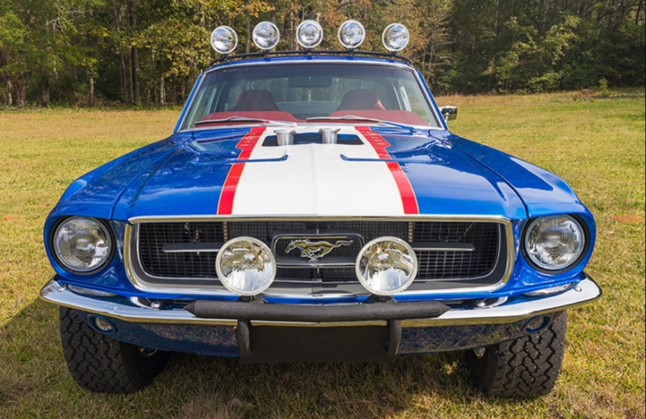 67 Mustang Rally Fighter