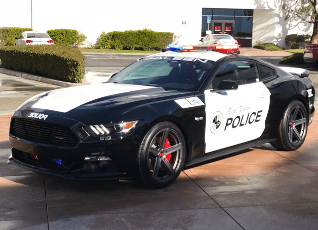 Seal Beach Saleen Mustang