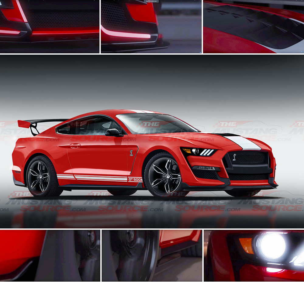 2020 shelby gt500 to be sold first at barrett jackson scottsdale
