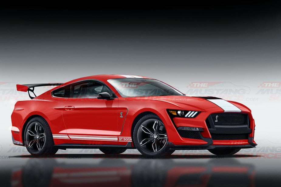 Shelby GT500 Front TMS