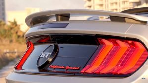 2019 Ford Mustang GT California Special GT badge
