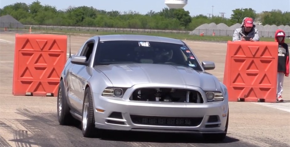 200 mph Ford Mustang Coyote engine
