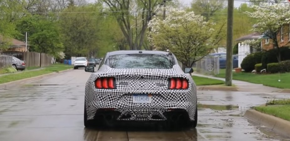 Shelby GT500 Filmed with Possible Automatic Transmission ...