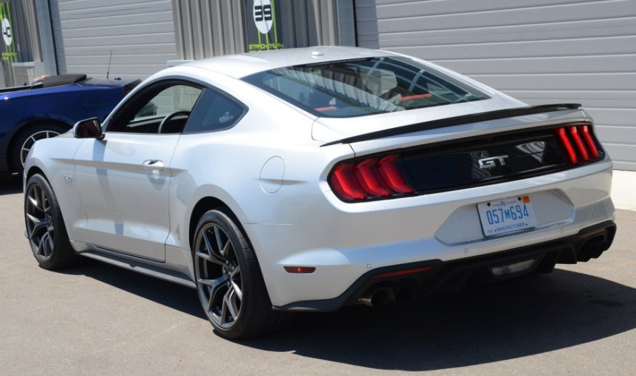 2019 Mustang GT Performance Pack 2 Angle Rear
