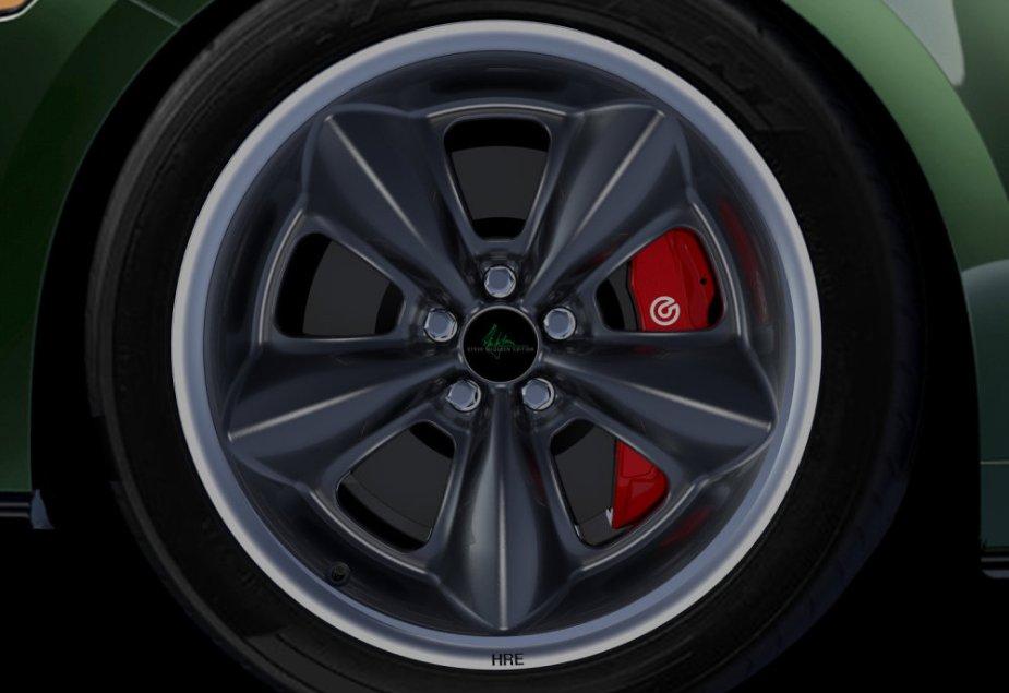 Steve McQueen Bullitt Mustang Wheels