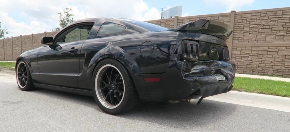 Coyote-Swapped Mustang Chases Down Hit & Run Driver - The Mustang Source