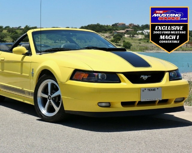 One-of-a-Kind Mach 1 Convertible