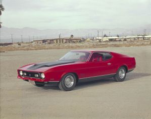 1971 Ford Mustang Mach 1.