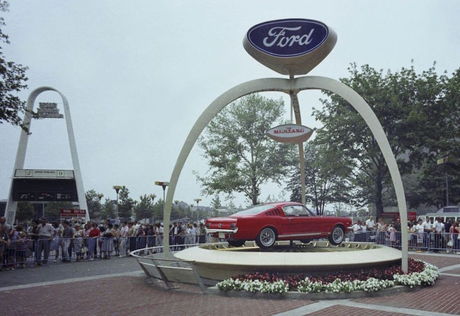 1965 Ford Mustang at the 1964 World's Fair.