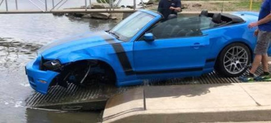 Ford Mustang Damaged