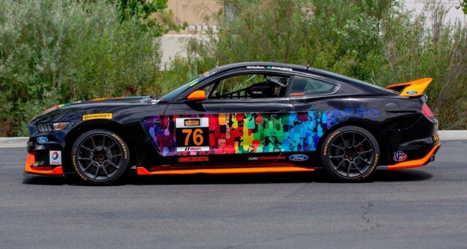 Mustang GT350R-C Side