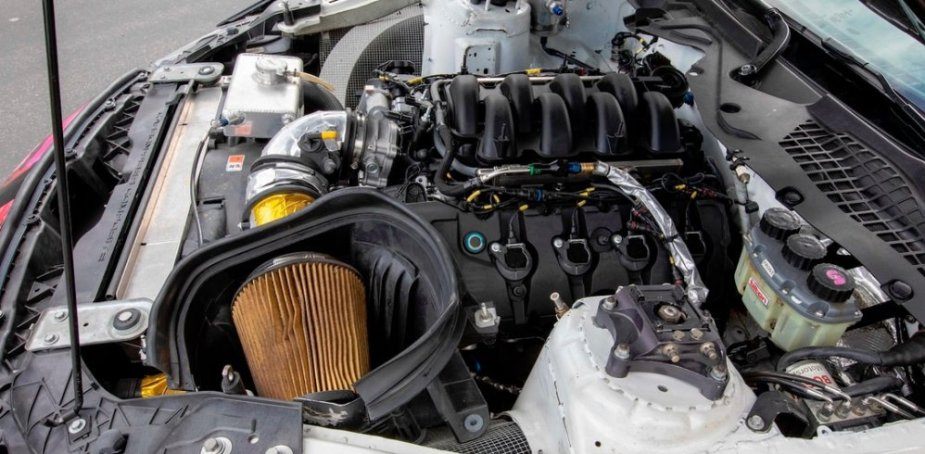 Mustang GT350R-C Engine