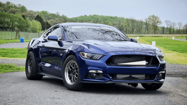 Lund Racing's 2015 Ford Mustang GT.