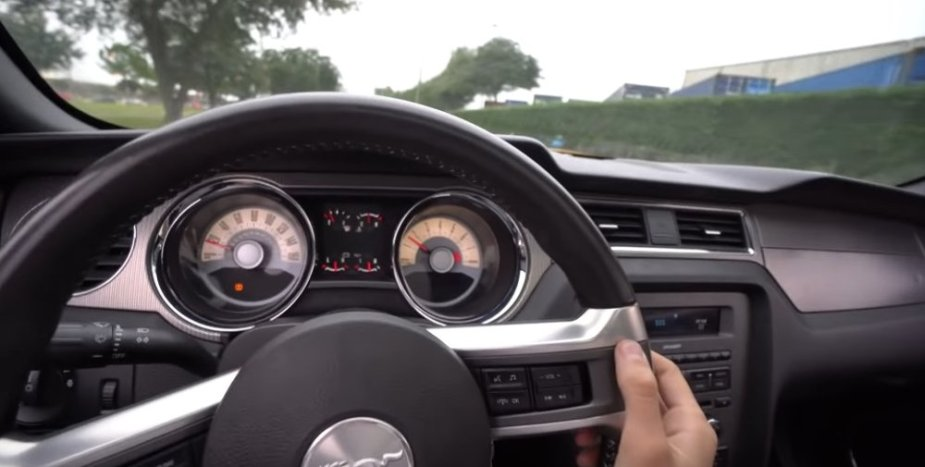 Mustang Driver's View
