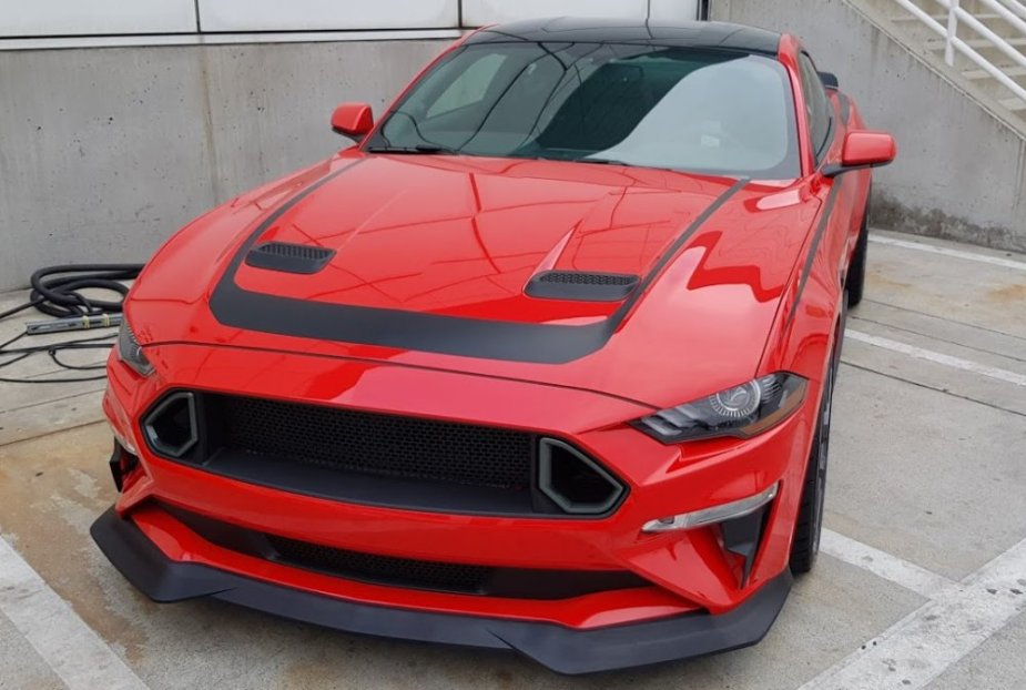 RTR Stage 1 Mustang Front Outside