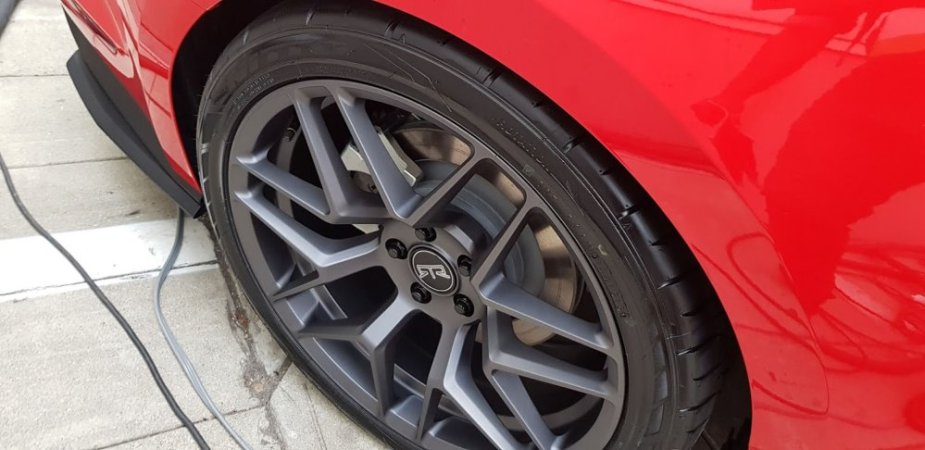 RTR Stage 1 Mustang Wheel