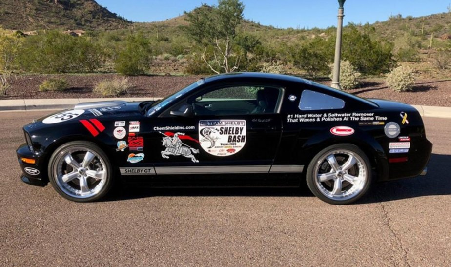 2007 Shelby GT Mustang #155 Side
