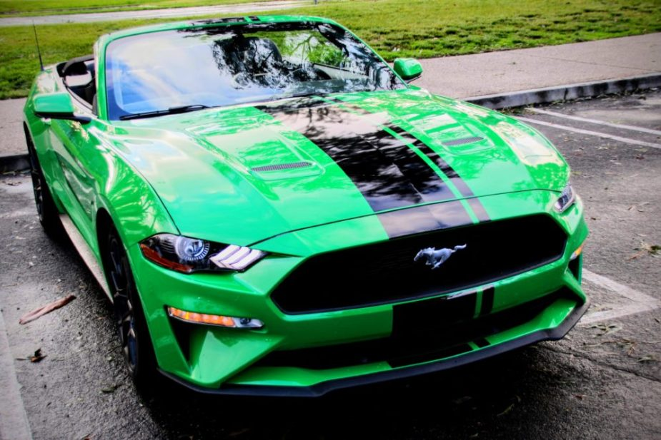 2019 Mustang EcoBoost in 'Need for Green'