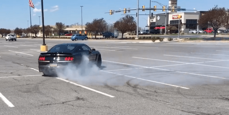 themustangsource.com Ford Mustang Shelby GT350 Cooks Donuts