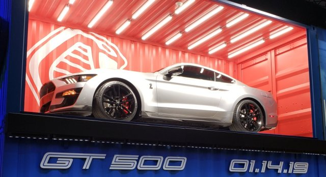 2020 Ford Mustang Shelby GT500 in a Crate