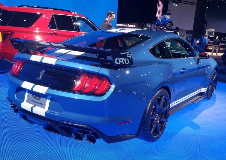 2020 Ford Mustang Shelby GT500 Rear