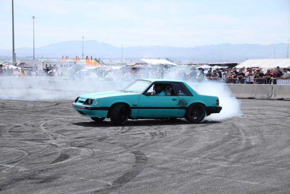 Fox Body Mustang at LS Fest.