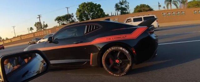 Exorcist Camaro Vs Mustang