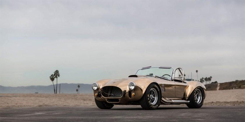 CSX 4600 Shelby Cobra Replica Bronze Bodywork Hand Polished