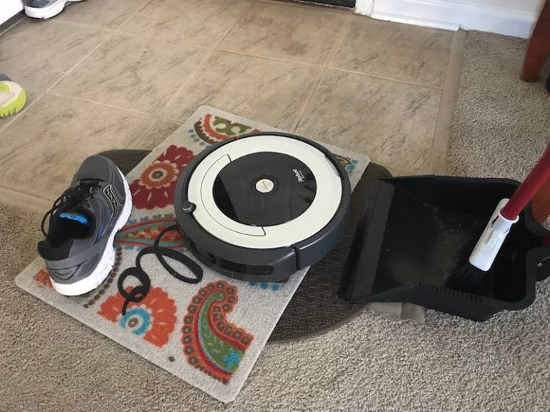 Tips for using a robot vacuum to keep your home clean.
