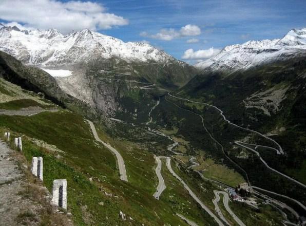 estradas espetaculares para dirigir