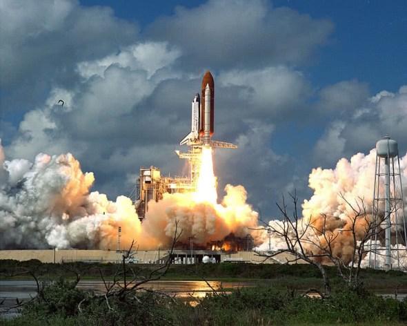 descoberta do ônibus espacial da NASA