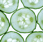 diy cucumber toner glowing