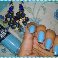 Maybelline Color Show Blue Berry Ice Review