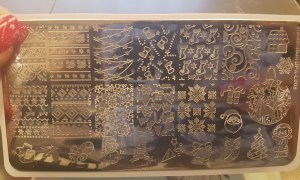 Born Pretty Christmas Stamping Plate