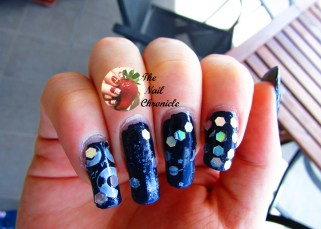 Nail Art for New Year's Eve