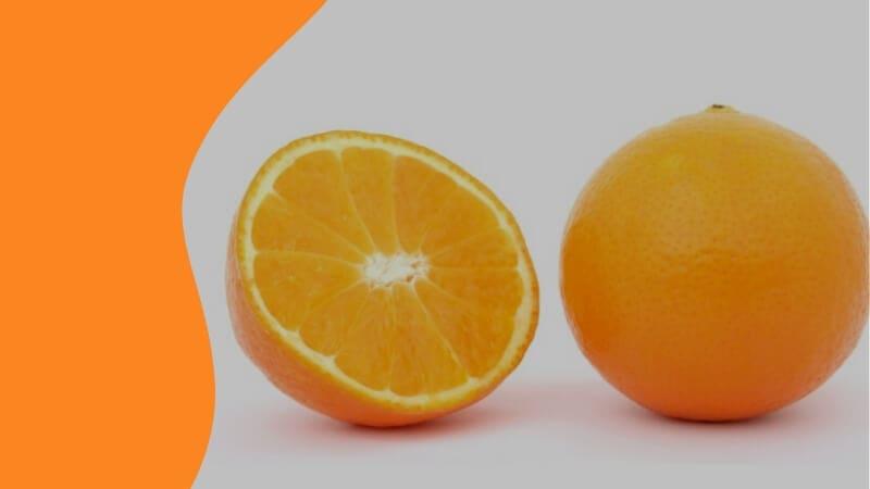 Orange for Vitamin C