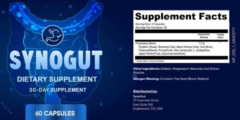 SynoGut Ingredients