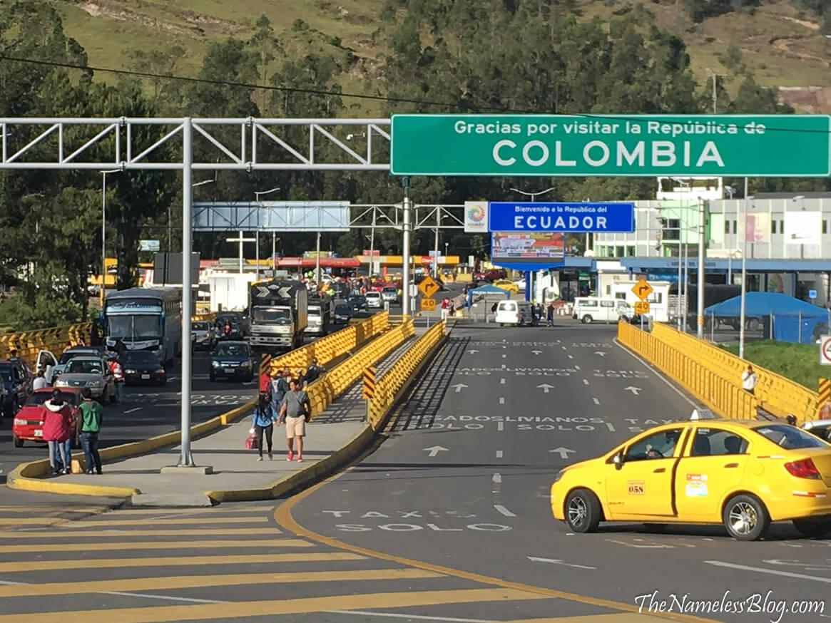 Border Crossing Ecuador / Colombia