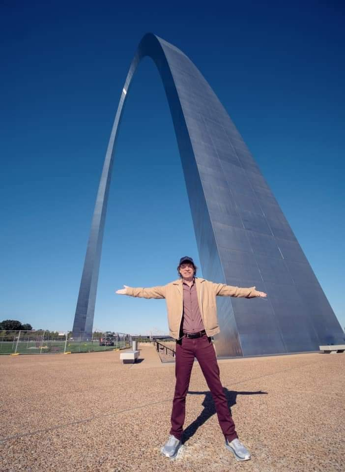 Mick Jagger in St Louis