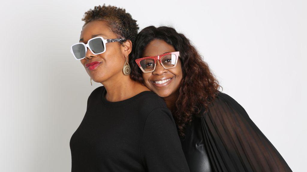 Tracey Green and Nancy Harris, owners of Vontélle eyewear company. (Vontélle Eyewear)
