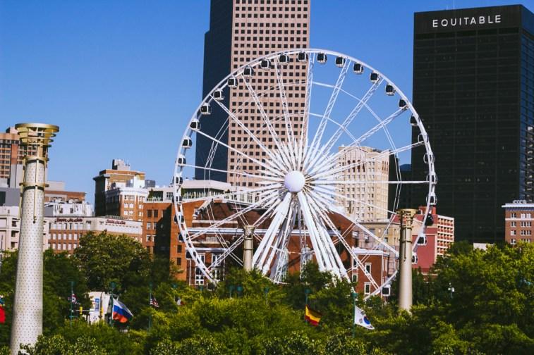 Views from Centennial Olympic Park